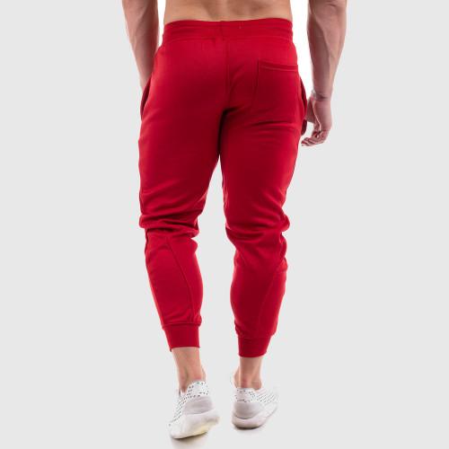 Kulturistická mikina IRON Clothing - Black & RED