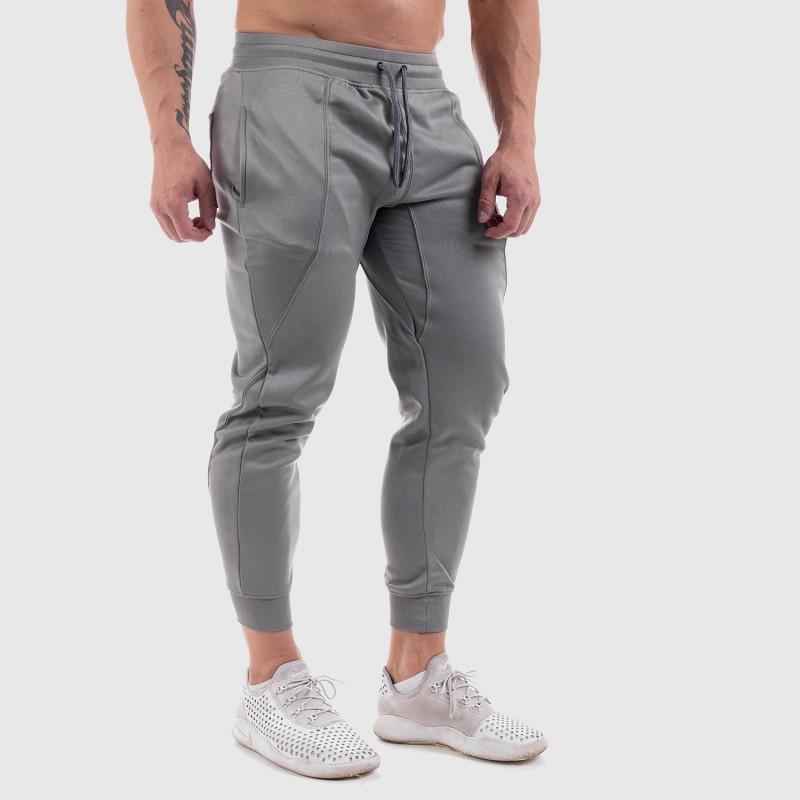 Teplákové kraťasy, sivé, MonstaMan Grey