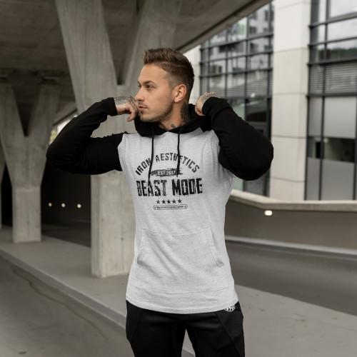 Kulturistické tričko IRON Clothing, Grey