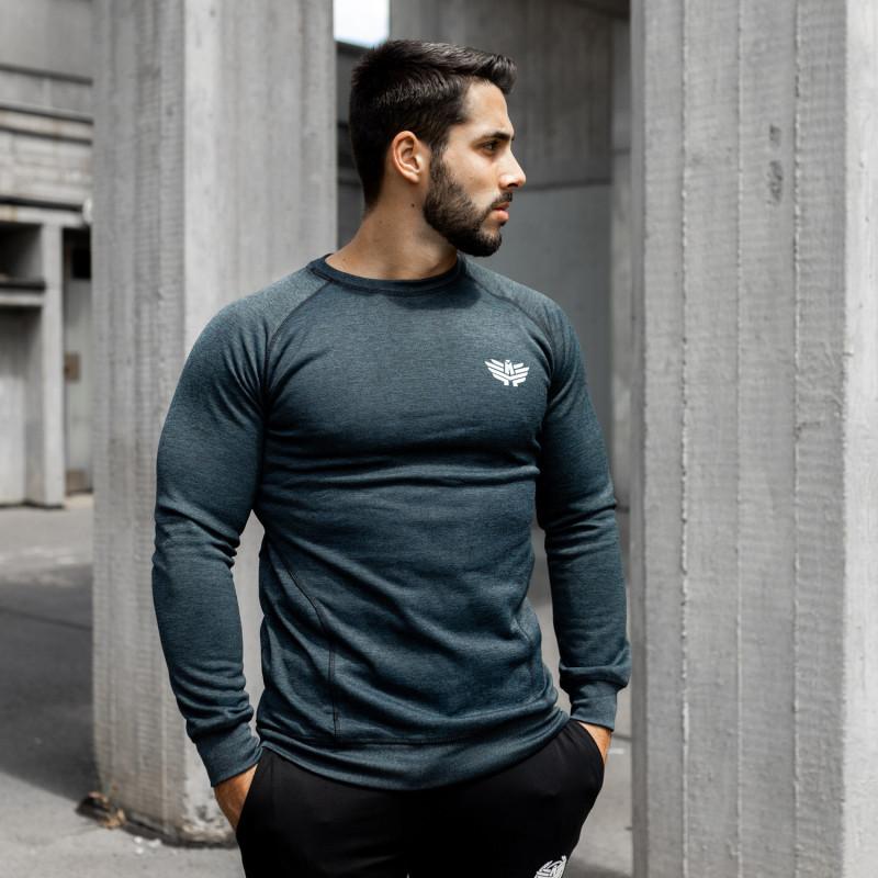 Kulturistické tričko Iron Camo Style, čierne
