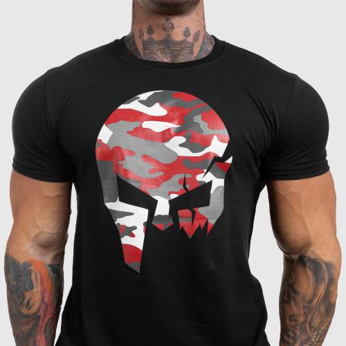 Kulturistické tričko Iron Clothing Warrior, biele