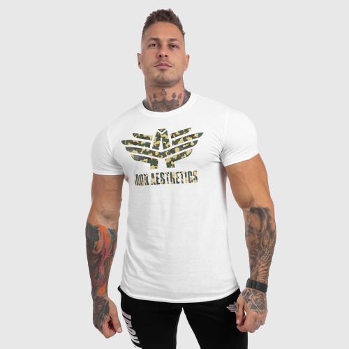 Kulturistické tričko Iron Clothing Warrior, sivé