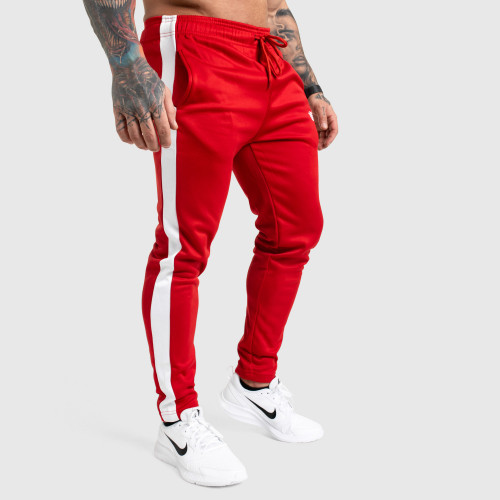 Kulturistické tepláky IRON Clothing, červená