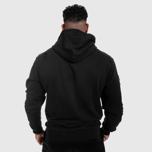 Funkčné tričko s dlhým rukávom Iron Aesthetics, čierne