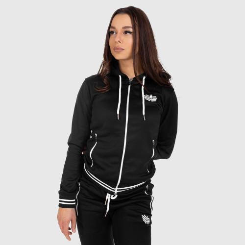 Športová mikina Iron Aesthetics, black zipper