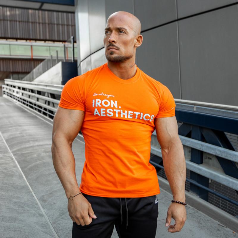 Tričko s dlhým rukávom Iron Aesthetics, light grey