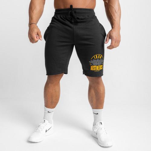 Jogger tepláky Iron Aesthetics, black&whitecamo