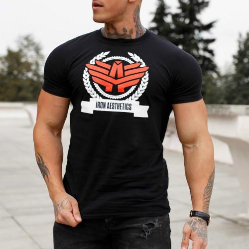 Pánske ultrasoft tričko Body Shop, čierne