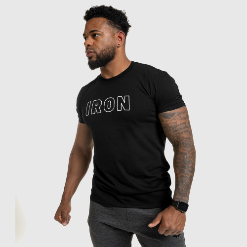 Ultrasoft tričko Aesthetics Self Made, čierne