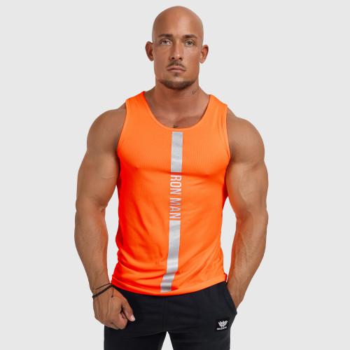 Kulturistické tričko Rule Nr.1 - Iron Clothing, biele