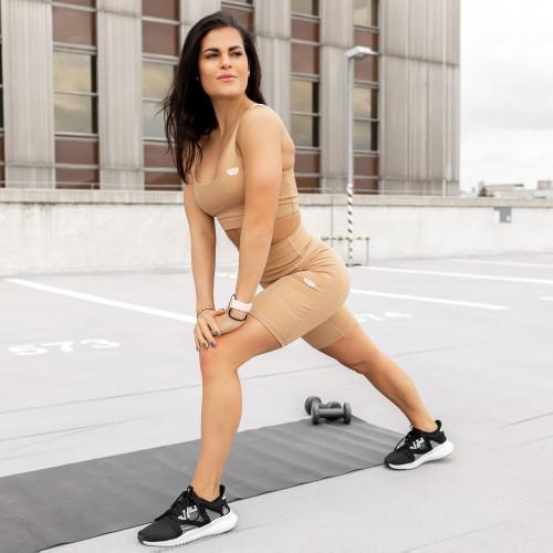 Pánske fitness tričko Iron Aesthetics Round, čierne