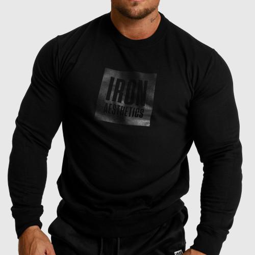 Pánske fitness tričko Iron Aesthetics Round, modré