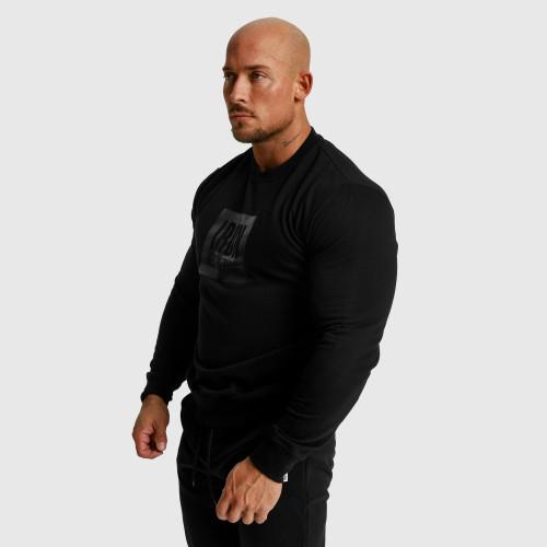 Pánske fitness tričko Iron Aesthetics Rectangle, čierne