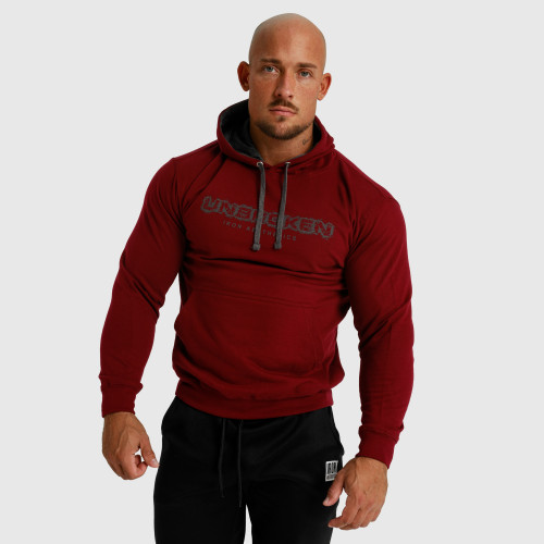 Pánske fitness tielko Iron Aesthetics Skull, červené