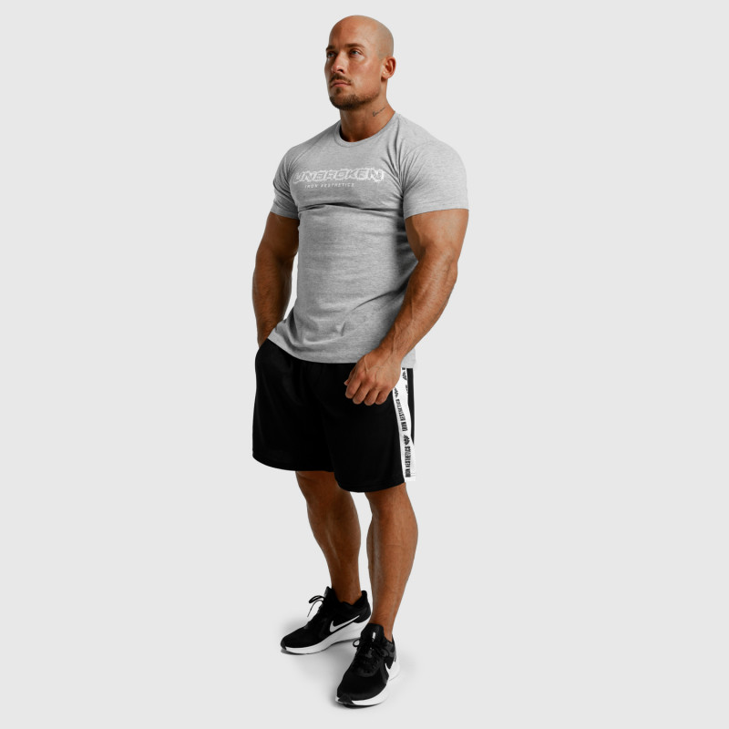 Pánske fitness tielko Iron Aesthetics Skull, biele