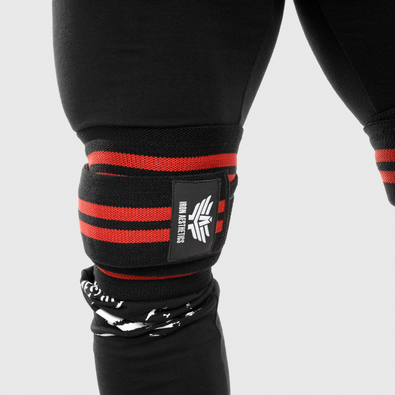 Pánske fitness tričko Iron Aesthetics Triumph, čierne
