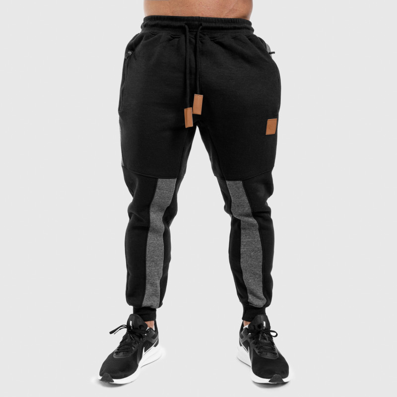 Fitness mikina bez zipsu Iron Aesthetics SKULL, B&R