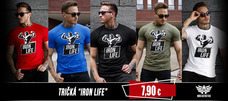 Tričká_Iron_Life