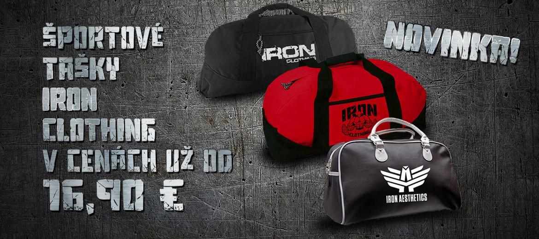 Športové tašky Iron Clothing
