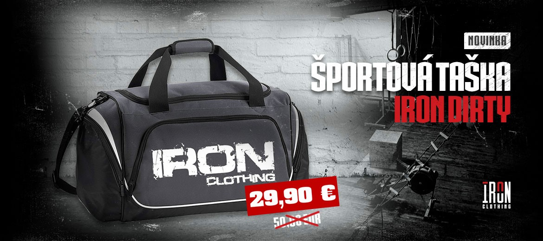 Športová taška Iron Dirty
