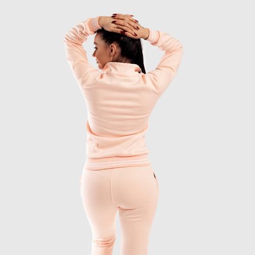 Dámska Fitness mikina so zipsom Iron Aesthetics, ružová