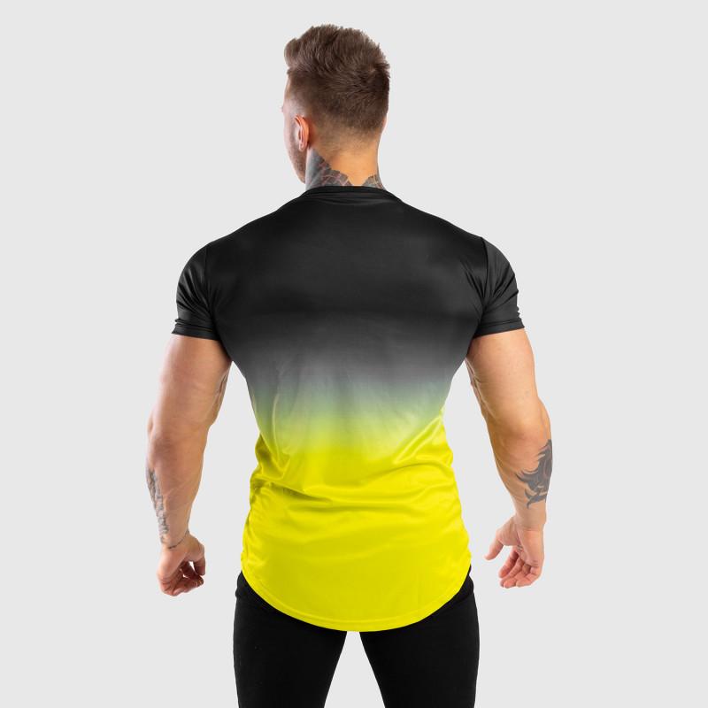 Pánske tričko Iron Aesthetics FADED, čierno-zelené-2