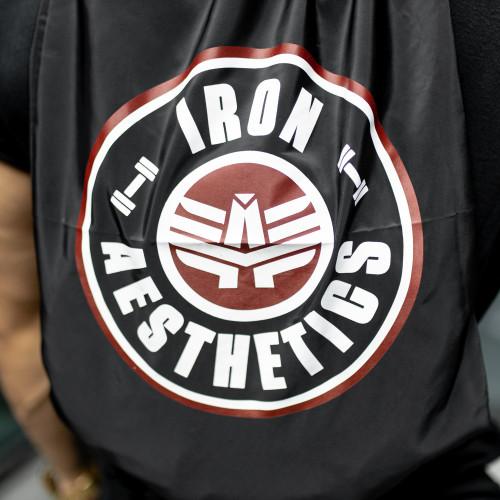 Sťahovací vak Iron Aesthetics CIRCLE, čierny