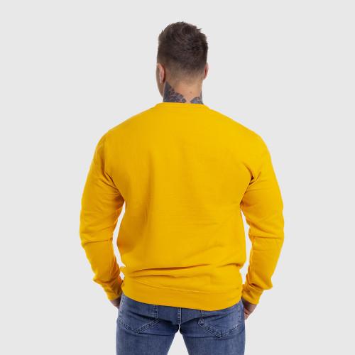 Mikina bez kapucne Iron Aesthetics DONUTS, žltá