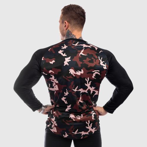 Funkčné tričko s dlhým rukávom Iron Aesthetics, maskáč
