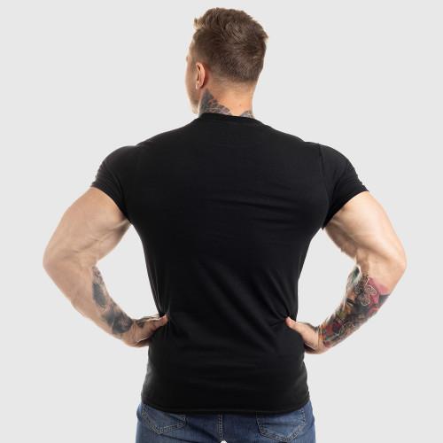Ultrasoft tričko Workout Till I Die, čierne