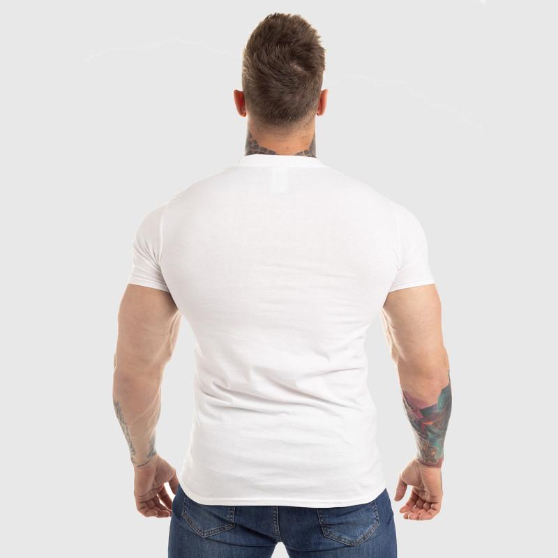 Ultrasoft tričko Workout Till I Die, biele-3