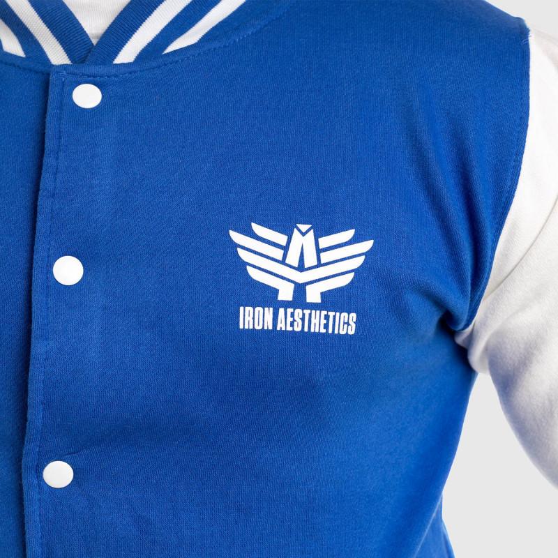 Bunda Iron Aesthetics Varsity Star, modrá-8