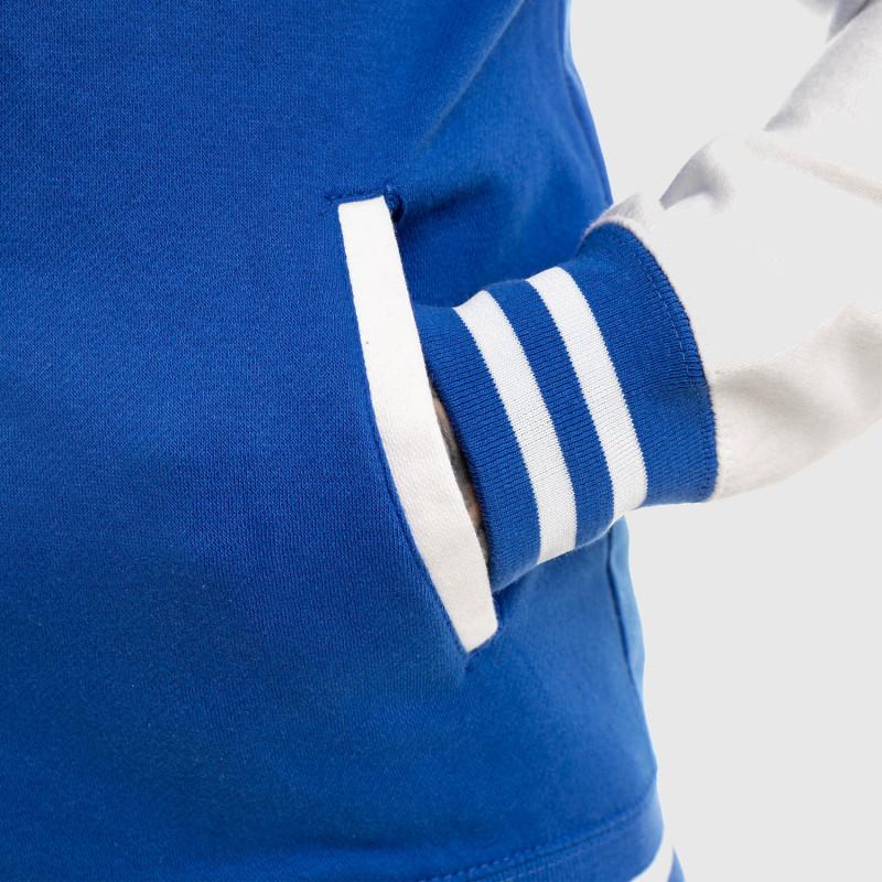 Bunda Iron Aesthetics Varsity Star, modrá-10