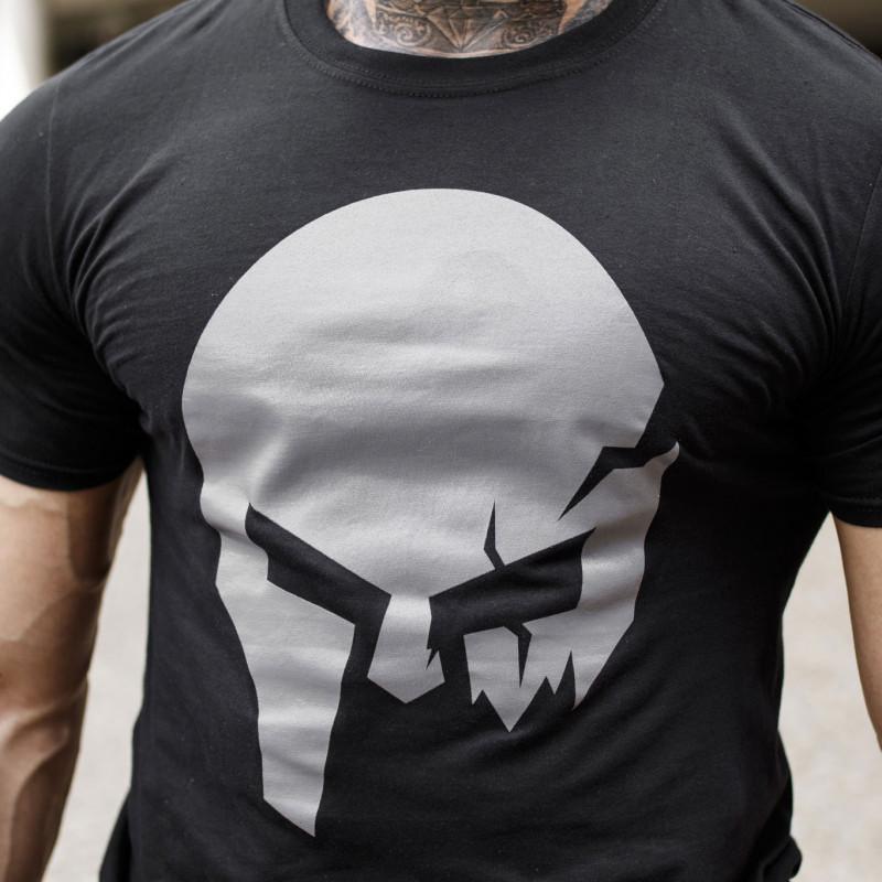 Ultrasoft tričko Iron Aesthetics Skull, B&G-3