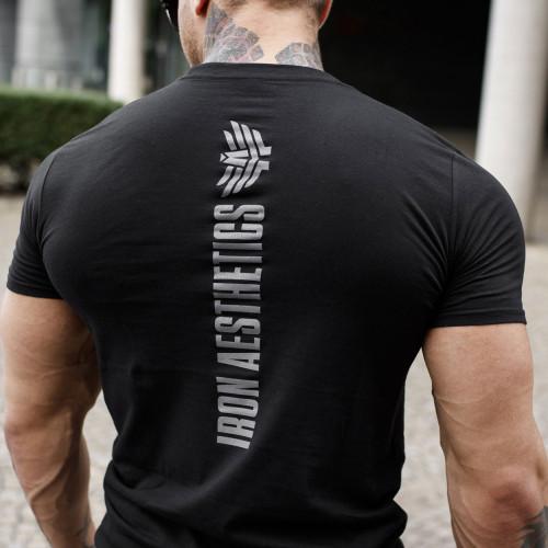 Ultrasoft tričko Iron Aesthetics Skull, B&G