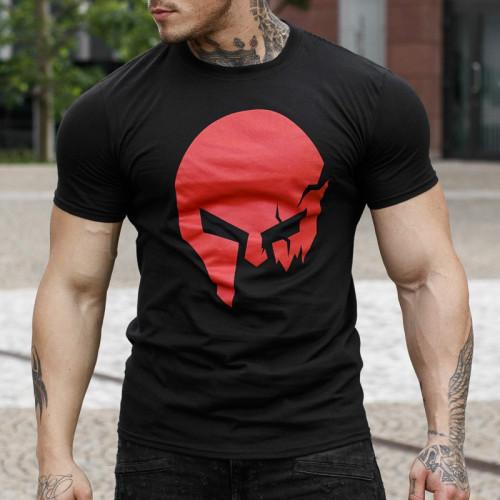 Ultrasoft tričko Iron Aesthetics Skull, B&R