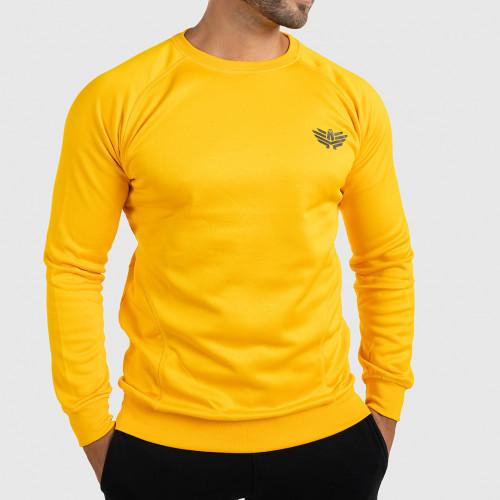 Pánsky pulóver Iron Aesthetics Light Soft, žltý