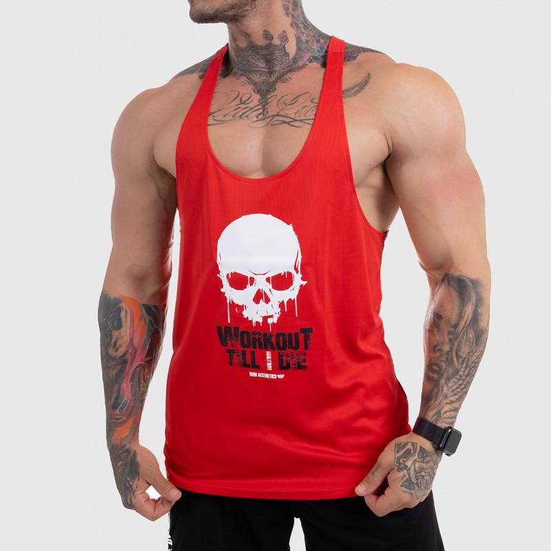 FUNKČNÉ TIELKO Workout Till I Die, červené-1