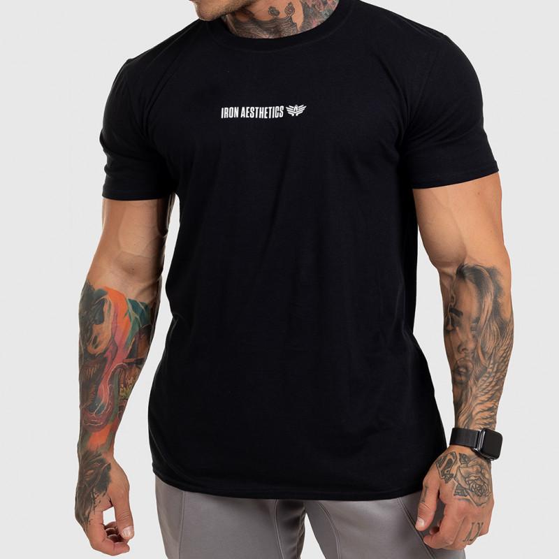 Ultrasoft tričko Iron Aesthetics STRONGMAN, čierne-5