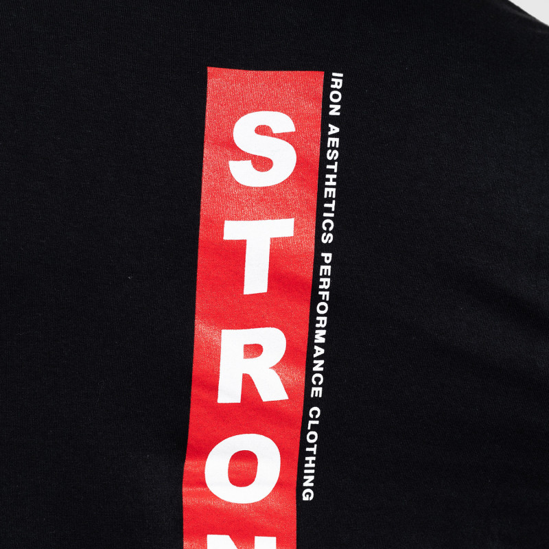 Ultrasoft tričko Iron Aesthetics STRONGMAN, čierne-7
