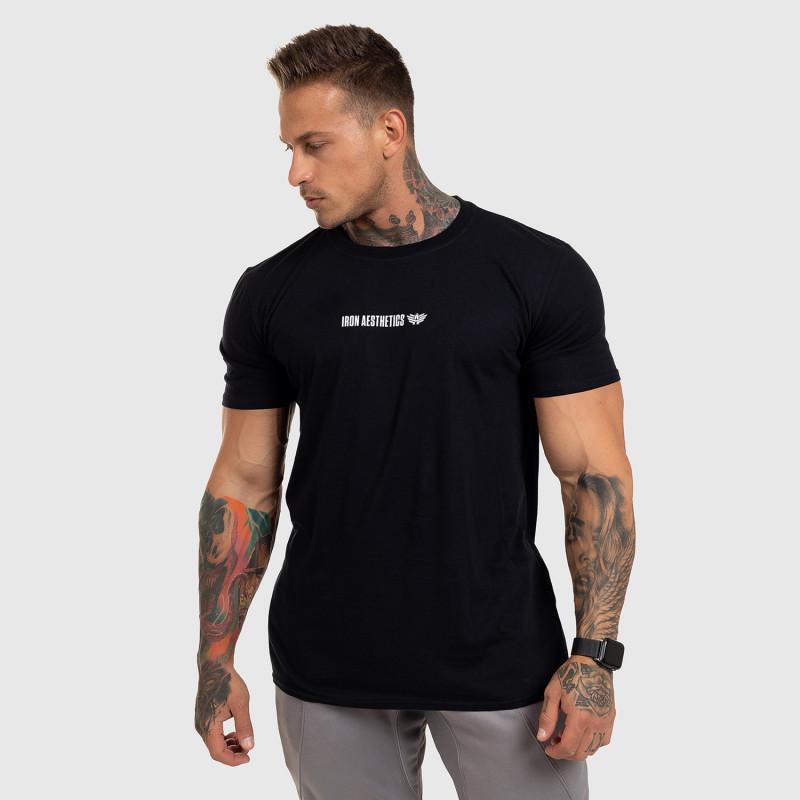 Ultrasoft tričko Iron Aesthetics STRONGMAN, čierne-8
