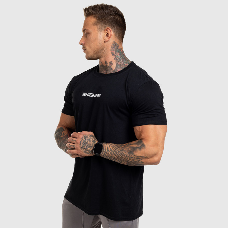 Ultrasoft tričko Iron Aesthetics STRONGMAN, čierne-10