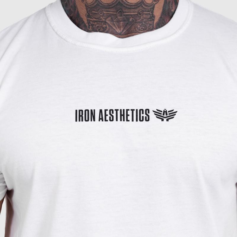 Ultrasoft tričko Iron Aesthetics STRONGMAN, biele-5