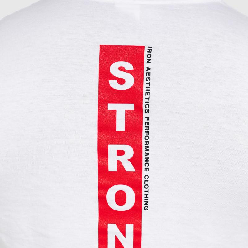 Ultrasoft tričko Iron Aesthetics STRONGMAN, biele-7