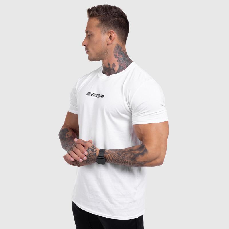Ultrasoft tričko Iron Aesthetics STRONGMAN, biele-10