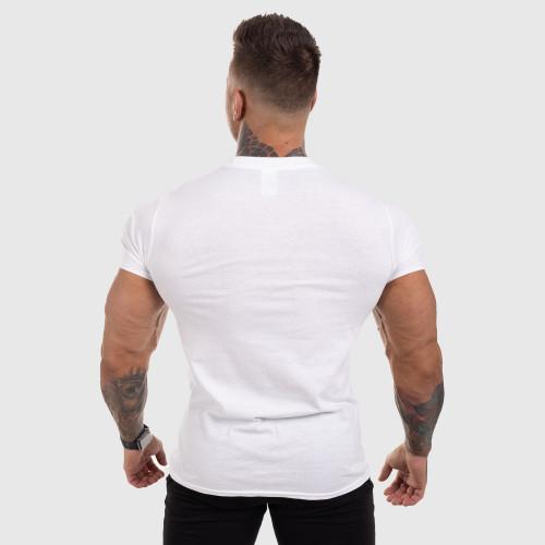 Ultrasoft tričko Iron Aesthetics Green Camo, biele