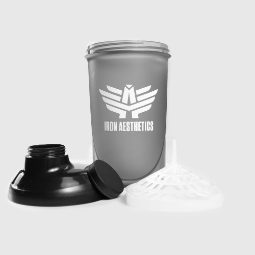 Shaker Iron Aesthetics 500ml, čierny