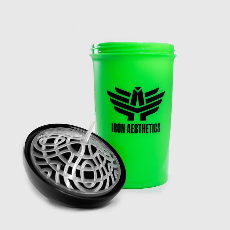 Shaker Iron Aesthetics 500ml, zelený-3