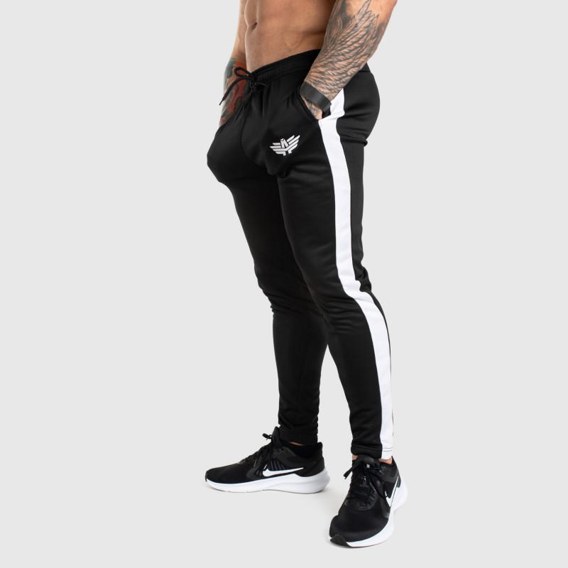 Jogger tepláky Iron Aesthetics Sport Track, čierne-1