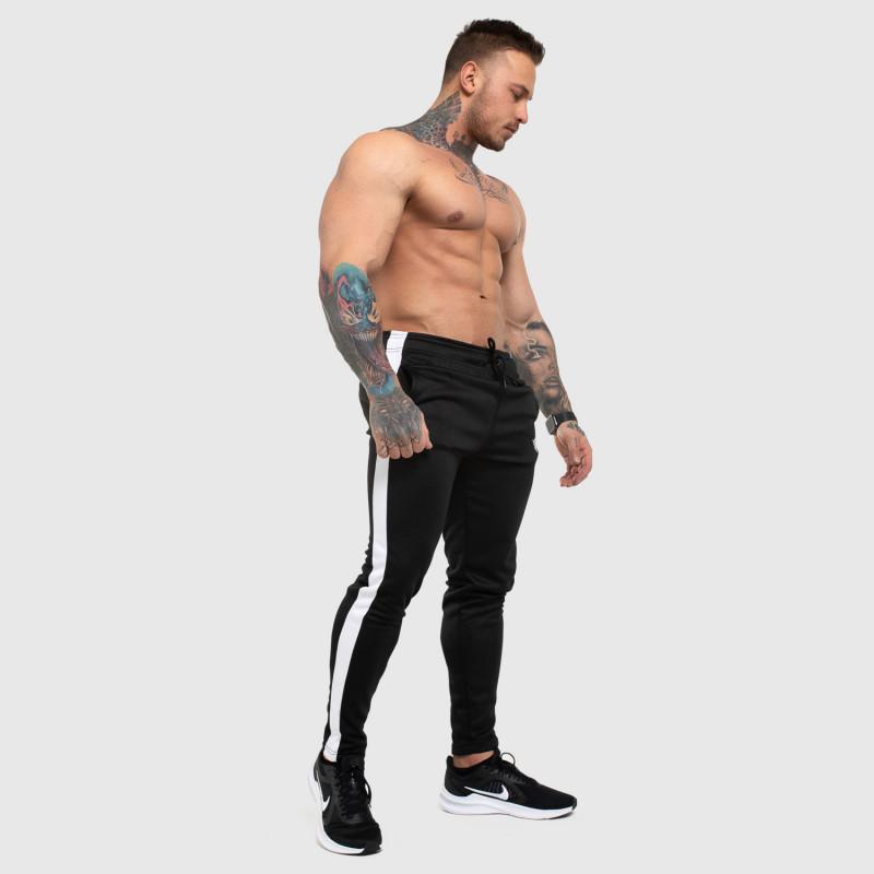 Jogger tepláky Iron Aesthetics Sport Track, čierne-5